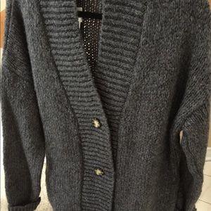 NWT Zara long cardigan sweater/coat